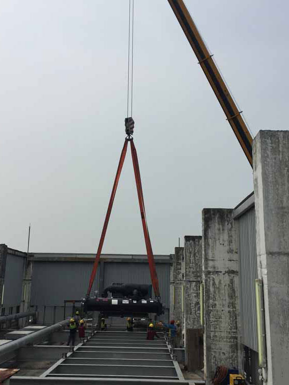 Chiller moving projects