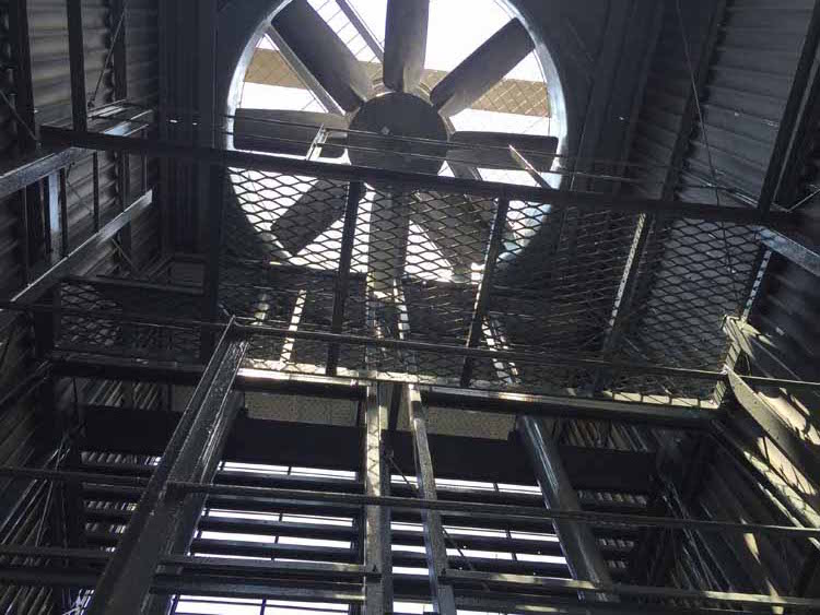 cooling tower overhaul