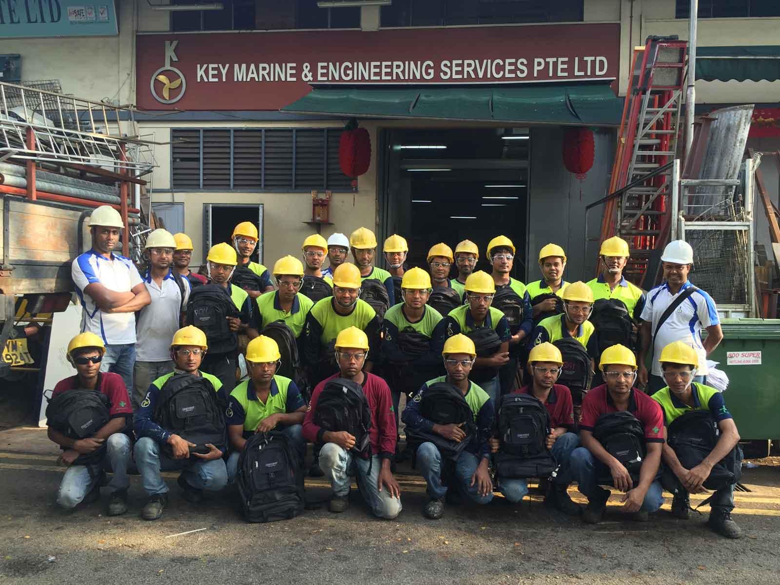 Key Marine team